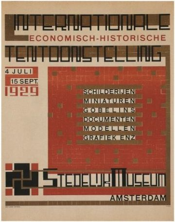 Vintage Dutch poster -  International Exhibition (1929)